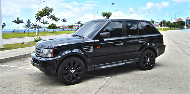 Secure Range Rover